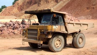 truck quarry